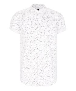 Topman | And Flecked Short Sleeve Casual Shirt