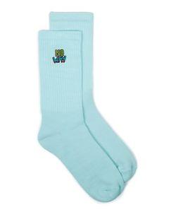 Topman | Aqua No Way Badge Tube Socks