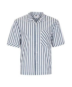 Topman | Mens And Block Stripe Short Sleeve Casual Shirt