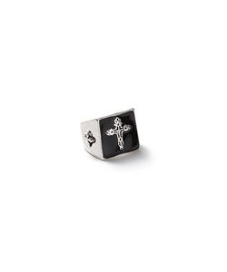 Topman | Look Engraved Cross Ring