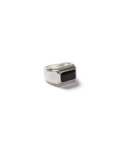 Topman | Look And Rectangle Stone Ring