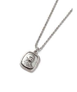 Topman | Look Humanity Stamp Pendant Necklace