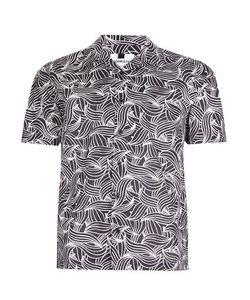 Topman | And Wave Print Short Sleeve Casual Shirt