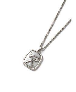 Topman | Look Courage Stamp Pendant Necklace