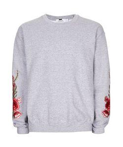 Topman | Rose Embroidered Sweatshirt