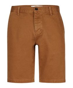Topman | Tan Slim Worker Chino Shorts