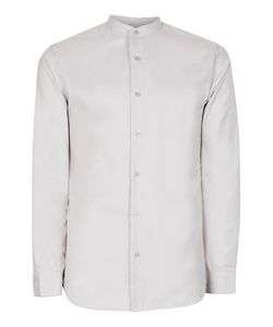 Topman | Selected Homme Faded Stand Collar Shirt
