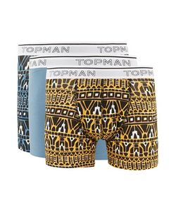 Topman | Multi And Print Trunks 3 Pack
