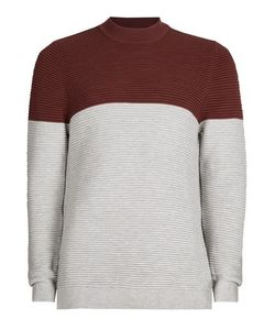 Topman | Burgundy And Turtle Neck Sweater