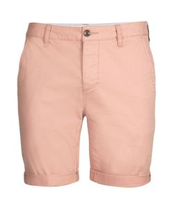 Topman | Stretch Skinny Rolled Hem Chino Shorts