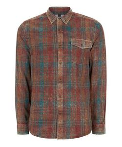 Topman | Checked Relaxed Fit Shirt