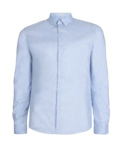 Topman | Light Marl Muscle Fit Dress Shirt