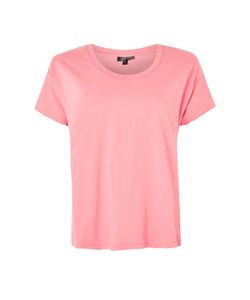 TopShop | Washed Scoop Neck T-Shirt