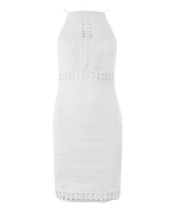 TopShop | Crochet Trim Mini Dress