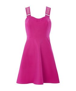 TopShop | Petite Airtex Strappy Skater Dress