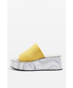 TopShop | Dimple Marble Effect Wedge Sandals