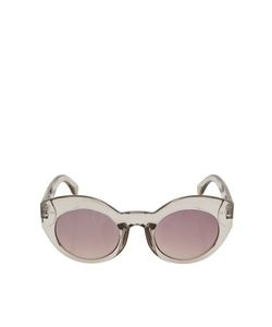 TopShop | Kitty Cateye Sunglasses Pale