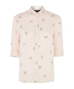 TopShop   Petite Unicorn Print Shirt