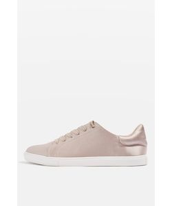 TopShop | Catseye Satin Lace-Up Trainers