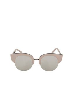 TopShop | Rubber Clubmaster Sunglasses Pale