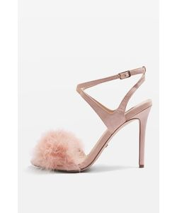 TopShop | Reine Feather Heeled Sandals