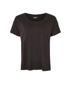 TopShop   Washed Scoop Neck T-Shirt