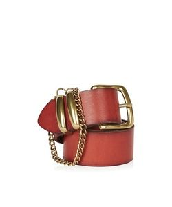 TopShop | Chain Detail Real Leather Belt
