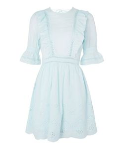 TopShop | Broderie Ruffle Dress