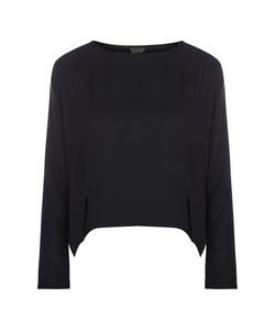 TopShop | Textured Crop Sweat Top