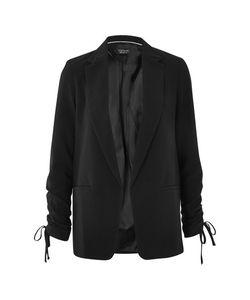 TopShop | Ruched Sleeve Blazer