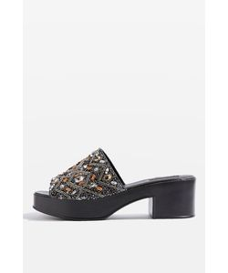 TopShop | Villain Beaded Mules