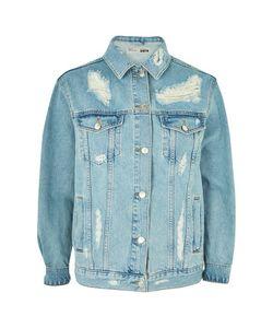 TopShop | Tall Oversized Denim Jacket