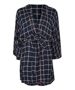 TopShop | Navy Check Robe