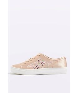 TopShop | Cupid Embroidery Trainers