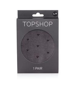 TopShop | Mini Heart Sheer Tights