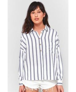 Cooperative by Urban Outfitters | Double Stripe Button-Down Shirt