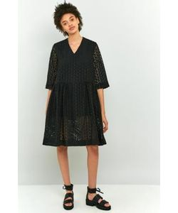 Peter Jensen | Broderie Anglais Smocked Dress