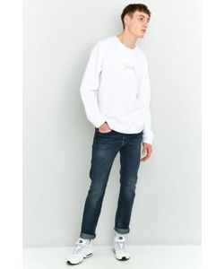 Edwin   Ed-80 Grime Wash Slim Fit Tapered Jeans