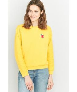 Peter Jensen | Uo Exclusive Apple Reverse Knit Sweatshirt