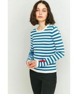 Manoush   Striped Pom-Pom Knitted Jumper