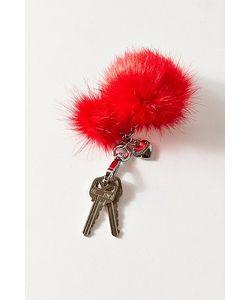 Juicy Couture   Pompom Keychain
