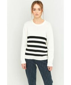 Peter Jensen | And Striped Crew Neck Jumper