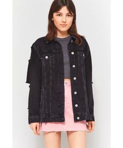 BDG | Long Western Destroyed Denim Jacket