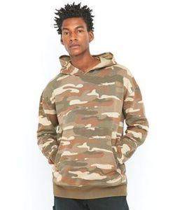 Shore Leave by Urban Outfitters | Shore Leave Moss Oversized Sand Camo Hoodie