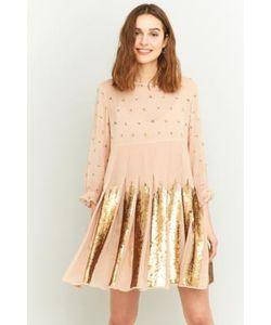 Manoush   Rose Sequin Mini Dress