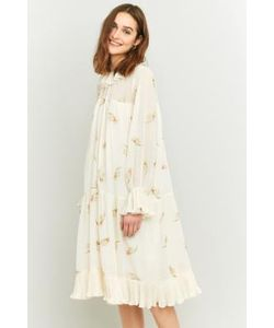 Manoush | Oversized Embroidered Midi Dress