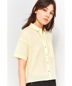 Cooperative by Urban Outfitters | Cropped 80s Pastel Stripe Shirt