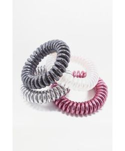 Urban Outfitters | Elastic Coil Hair Band 4-Pack