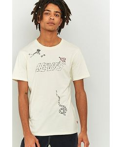 Levi's | Embroidered Chalk T-Shirt
