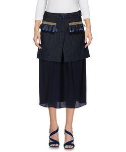 Frankie Morello | Denim Denim Skirts On